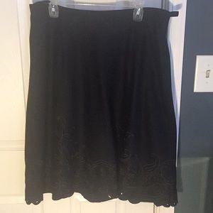 Beautiful a-line midi skirt